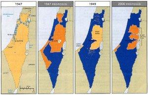 L'evoluzione di Israele e Palestina